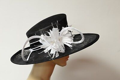Hand made Kentucky Derby Sinamay hat