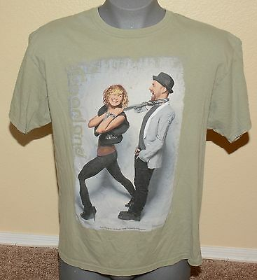 """Vintage Sugarland """"The Incredible Machine Tour 2011"""" Graphic Tee Men's Size XL"""