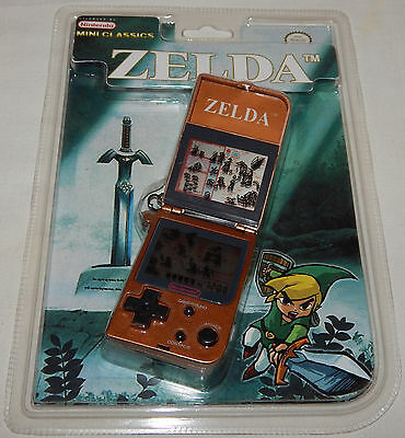 *vintage 1998 Nintendo Mini Classics Zelda Lcd Handheld Game & Watch Sealed/nos*
