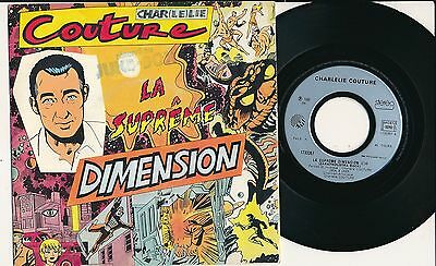 "Charlelie Couture 45 Tours 7"" France La Supreme Dimension"
