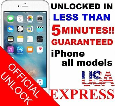 ENTSPERREN SIE SERVICE AT&T kod ATT for IPhone 3 4 5 5S 6 6s SE 7 8