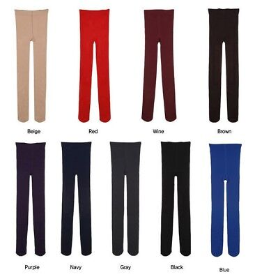 Women Winter Thick Warm Fleece Lined Thermal Stretchy Slim Skinny Leggings Pants