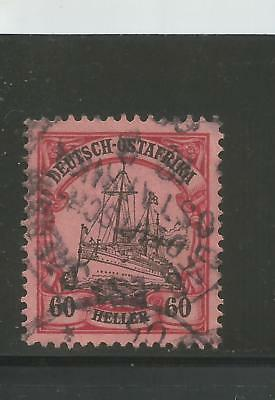 German East Africa Mi. # 29 I, Used, VF. Plate Flaw. Steuer BPP. CV € 350.00