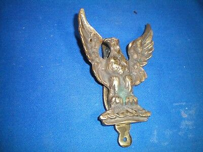 Vintage Door Knocker EAGLE Solid Brass England