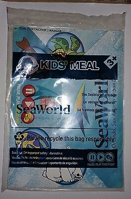 Wendy's Kids Meal Toy The Sea World SeaWorld Voyage Travel Game Cake Topper