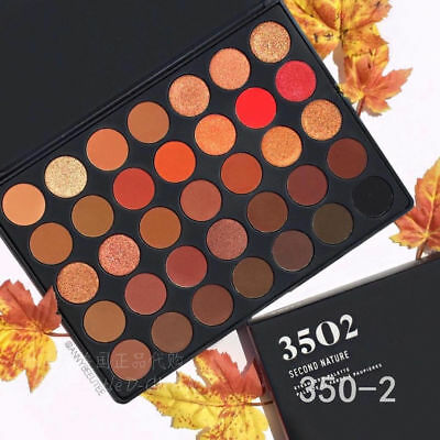 Morphe Brushes 35O2 SECOND NATURE EYESHADOW PALETTE 3502 Colour Eyeshadow Palett