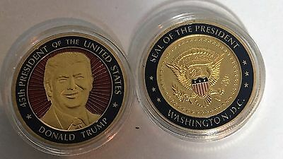 President Donald J. Trump  Presidential seal challenge coin