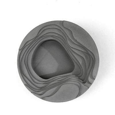 Cement concrete geometry high-end gifts silicone mold Art ashtray dish office