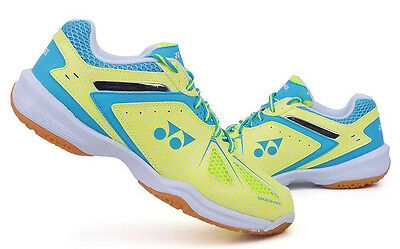 Yonex Women's Badminton Shoes Power Cushion Racquet 35 Y / SX Yellow / Blue SX