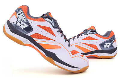Yonex Men's Badminton Shoes Cushion Comfort Sports Orange Racket SHB-CFMEX NWT