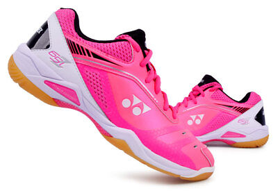 Yonex Women's Badminton Shoes Power Cushion 65Z Ladies Pink Racquet SHB-65ZLEX