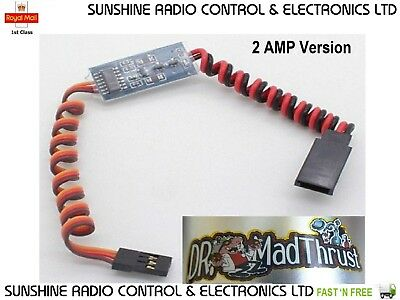 Electronic On / Off Switch Remote RC Controlled RX Receiver Switch 2 Amps NEW UK