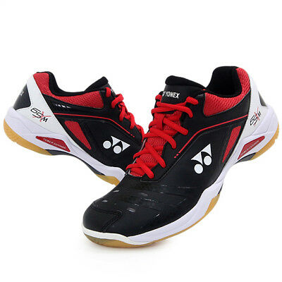 Yonex Men's Badminton Shoes Power Cushion Black Red Racquet SHB-65XMEX NWT