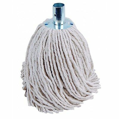 10 x 12oz Socket Mop Head Metal Socket Floor Cleaning Industrial Heavy Duty