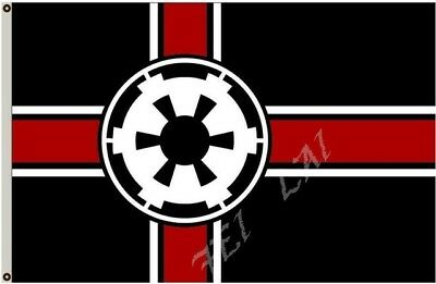 STAR WARS GALACTIC EMPIRE FLAG 3x5FT 90x150CM TWO GROMMETS