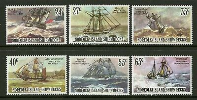 Norfolk Island   1982   Scott # 293-298    Mint Never Hinged Set