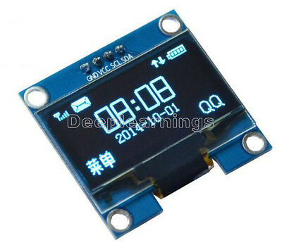"1.3"" Blue OLED LCD Display Module IIC I2C 128x64 3-5V Interface for Arduino"