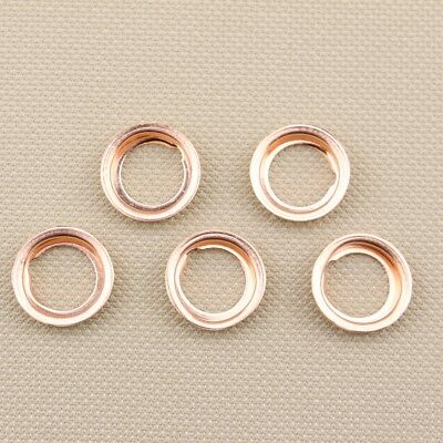 5pcs Oil Drain Plugs Crush Washers Gaskets Stone 1102601M02 For: Nissan Infiniti