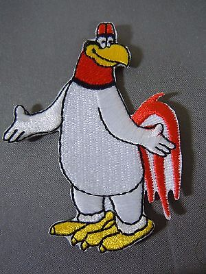 "FOGHORN LEGHORN Embroidered Iron-On Patch - 3"" Warner Bros."
