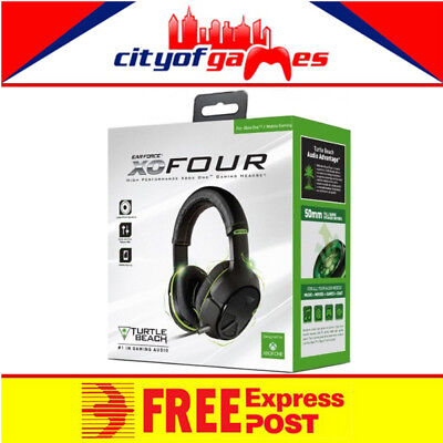 Turtle Beach Ear Force XO4 Stealth Xbox One New Free Express Post In Stock