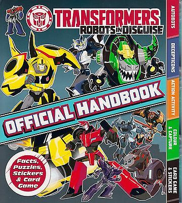 Transformers Robots in Disguise Official Handbook BRAND NEW BOOK 2015