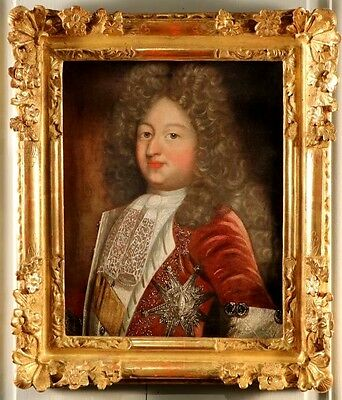 Amazing 18th Century French Oil Painting Portrait Of Sir, Duke Of Orleans