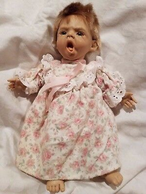 Berenger Yawning Baby Doll JC Toys Group 9""