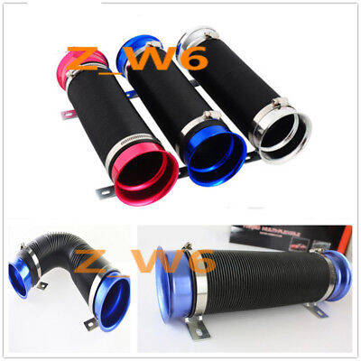 3 Inch Adjustable Flexible Short Ram/Cold Air Intake Duct Turbo Tube Pipe Hose