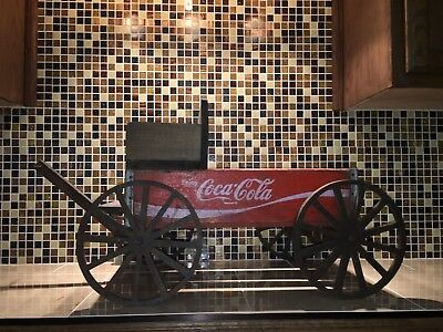 "Coca Cola Crate Wagon ""one of a kind"""