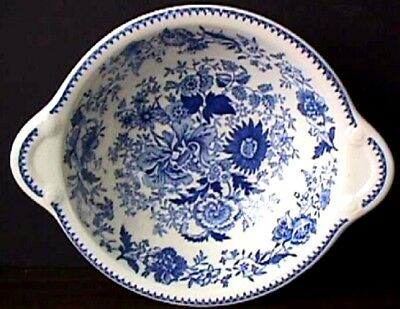 "**taylor Smith Taylor Center Bouquet-Blue (1) 5 3/8"" Lugged Cereal Bowl #9 Us3-G"