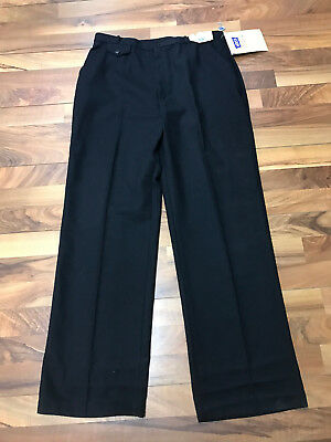 Vintage Made In Usa Nwt 1980S Levis Flannel-Ease Pants Black Womens 32 X 32 Nos
