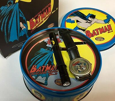 "NEW BATMAN Limited Edition ""Friend or Foe"" Collectors Watch No. 2 by Fossil  NIB"