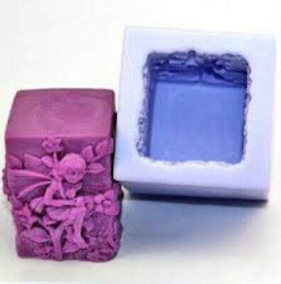 Fairy Square Silicone Mould for Candles & other crafts