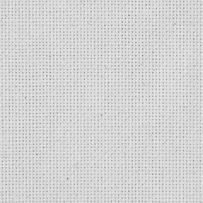 M C G Textiles 15 X 18-inch 18-Count Aida Cross Stitch Fabric, White