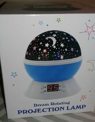 NEW Dream Rotating Projection Night Light Projection Lamp