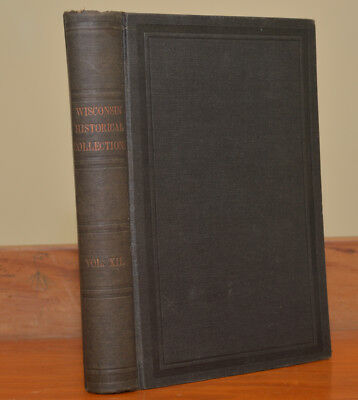 1892 Wisconson Collections~The Black Hawk War~Indian Agent Boyd Papers~Germans