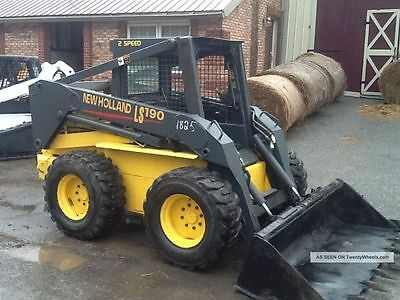 Newholland LS 190 LS190 Decal sticker kit USA Made quality kit New Holland