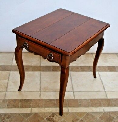 HENREDON French Country Pierre Deux End Side Lamp Coffee Table Dining Nightstand