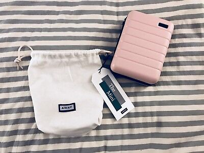 AWAY Travel Luggage The Mini Suitcase Toiletry in Blush PinkPop&SukiGlossier