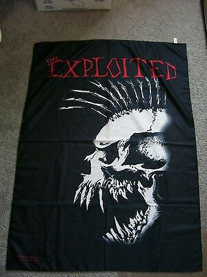 The Exploited Textlie 30 x 40 Poster Falg