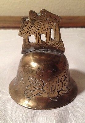 Antique Chinese Brass Dinner Bell
