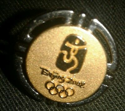 2008 Beijing Olympic Round Emplem Pin