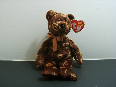 """TY Beanie Babies """"2006 SIGNATURE BEAR"""" - New with Tag - MWMT! MUST HAVE! RETIRED"""