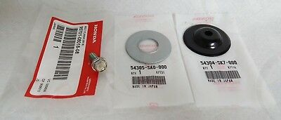 Genuine Honda 3Pc Shift Linkage Bushing Bolt Washer Set Acura Integra Civic 5Spd