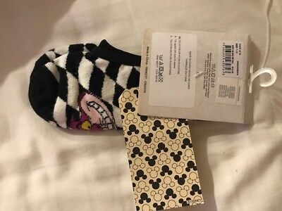Vans Off The Wall Women's US 7-10 Disney Cheshire Cat No Show Low Ankle Socks
