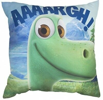 DISNEY THE GOOD DINOSAUR Arlo Square Cushion, Polyester, Multi-Colour