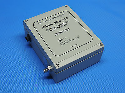 Teledyne 2000 XTC Thermal Conductivity Gas Transmitter Sensor Unit Inkl Rechnung