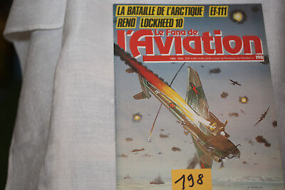 le fana de l'aviation-n°198-les Chasseurs Arsenal 2°-le Lockheed Electra-5/86