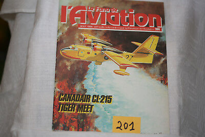 le fana de l'aviation-n°201-le Hawker Typhoon (fin)-le Canadair CL215-8/86