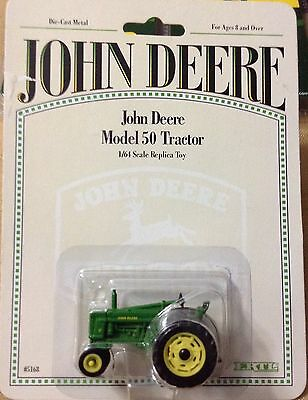 Ertl John Deere Model 50 Narrow 1/64 Farm Tractor Diecast